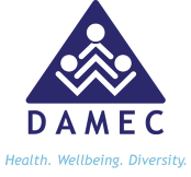 Drug and Alcohol Multicultural Education Centre (DAMEC) Logo